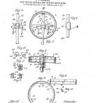 Una patente de la lanzadera o rueda de tipos inventada por James Bartlett