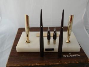 Set de escritorio de la firma estadounidense Sheaffer