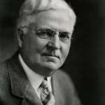 Retrato del joyero, empresario y fabricante de plumas estilográficas Walter A. Sheaffer, (1867, Bloomfield, Iowa)