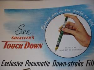 Publicidad del mecanismo de llenado Touchdown