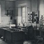 Departamento de niquelado y cobreado de la factoría asturiana