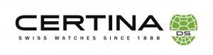 Nuevo logotipo estrenado por Certina con motivo de la conmemoración de sus 125 años de historia