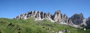 El Monte Grappa de 1.775 metros de altura