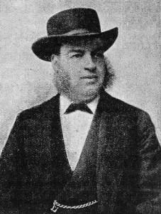 Retrato de Walter Tyler. Noviembre de 1896