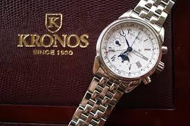 Foto promocional de la enseña de relojes Kronos. Fuente: www.foroderelojes.es