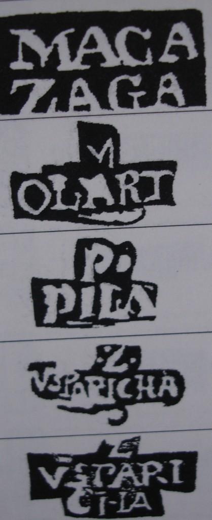 Punzones personales de algunos plateros bilbaínos que aparecen en piezas donde no existe contraste de localidad. Fuente: 'Marcas de la Plata española y virreinal'