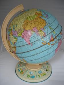 Esfera en hojalata litografiada de la casa británica Chad Valley