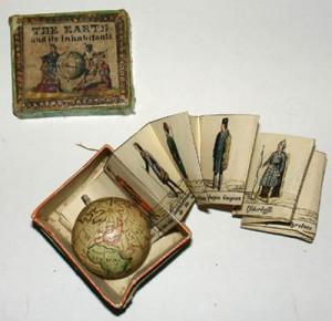 Ejemplo de juguete educativo publicado en el siglo XIX y atribuido a Carl Johann Sigmund Bauer