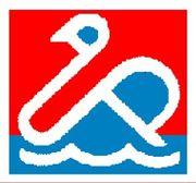 La editorial crea un sello específico para su línea de juegos educativos, un cisne que representa las iniciales de su denominación comercial