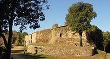 Vista de la pequeña localidad de Sant Cebriá dels Alls