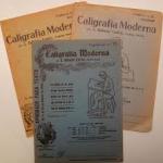 Cuadernos de caligrafía Dalmáu. Fuente: http://bibliotypes.blogspot.com.es