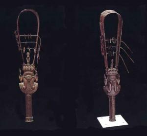 El Sistro, un intrumento musical de los antiguos egipcios también conocido como sonajero sagrado. Fuente: http://www.egiptoantiguo.org/