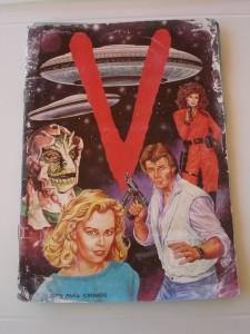 Libro de imágenes de la famosa serie de televisión V
