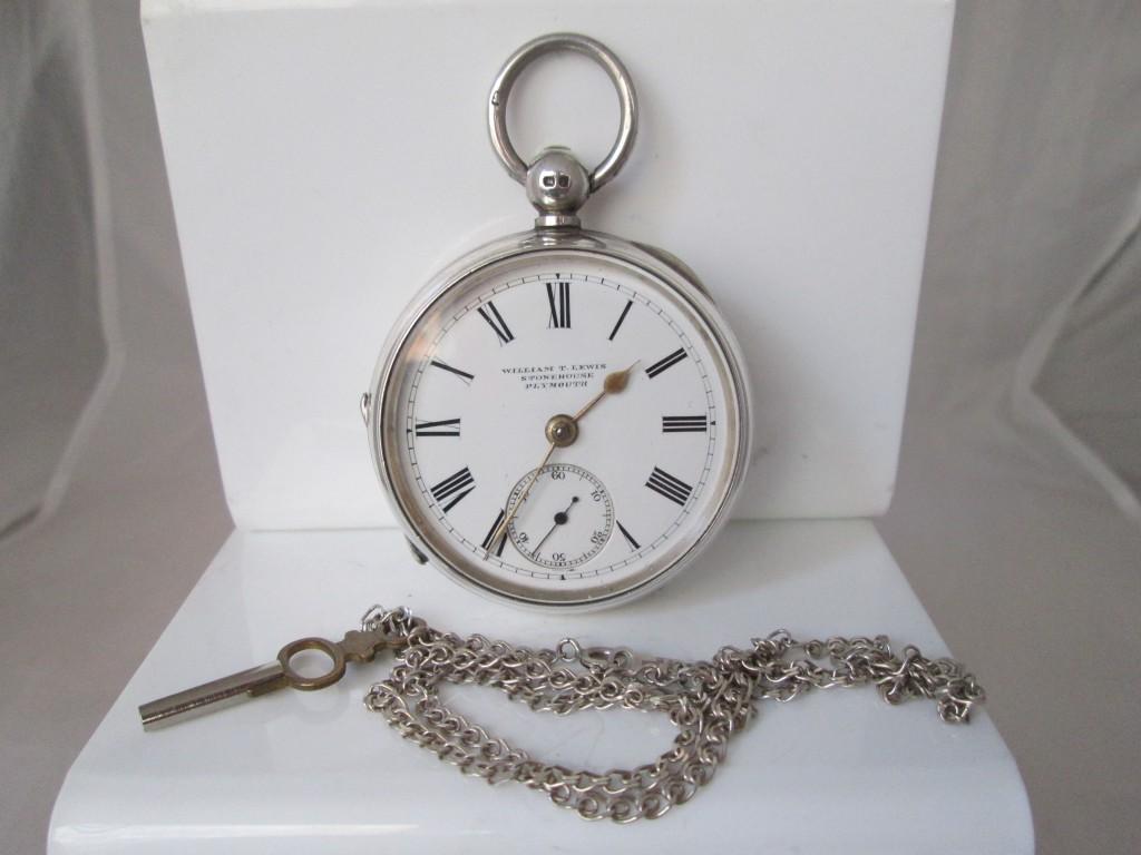Arquetipo de reloj semi-catalino inglés dotado de escape de áncora
