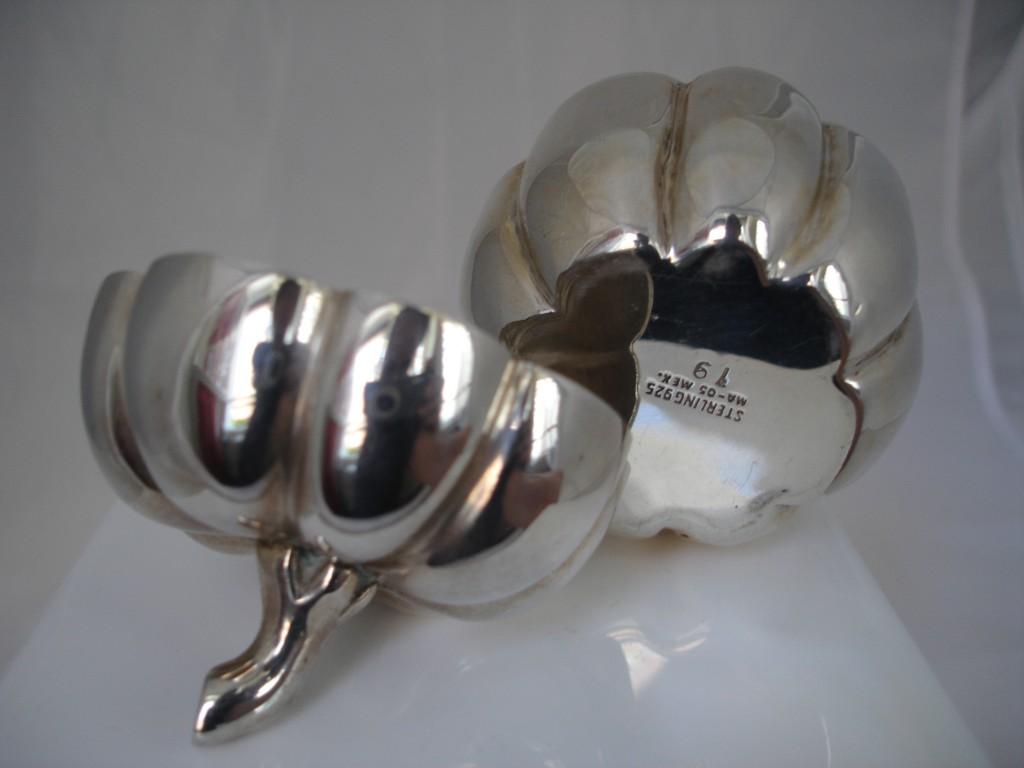 Caja de tocador realizada en plata mexicana