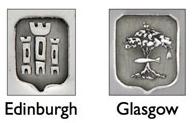 Contrastes de Glasgow y Edimburgo
