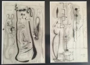 Las influencias abstractas también salpican el trabajo del creador charro